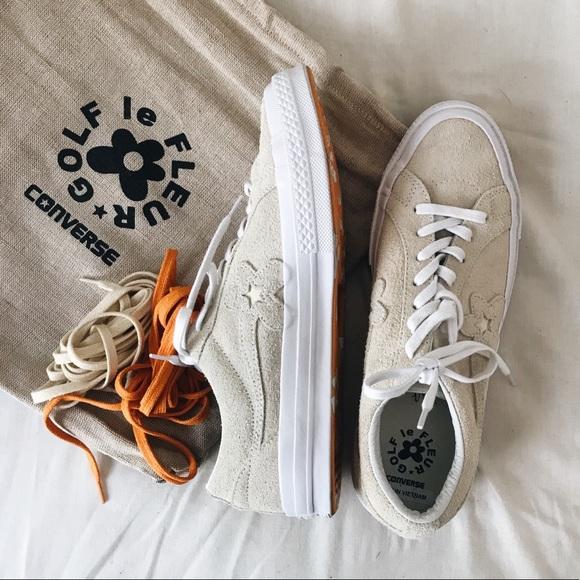 501c7c4511c2 Converse Other - Golf Le Fleur x Converse Shoes in Tan